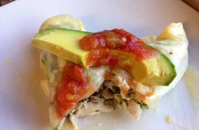 Cabbage Enchilada