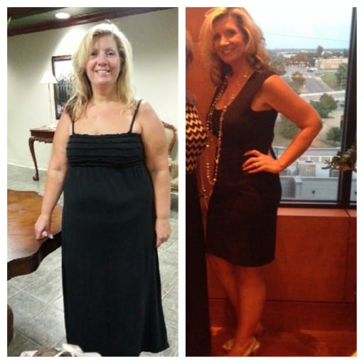 Rachel before and after- losing 100+ pounds