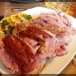 Herb Crusted Baked Ham