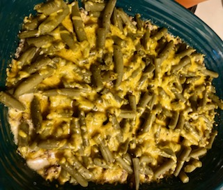 Ground Beef and Green Bean Casserole