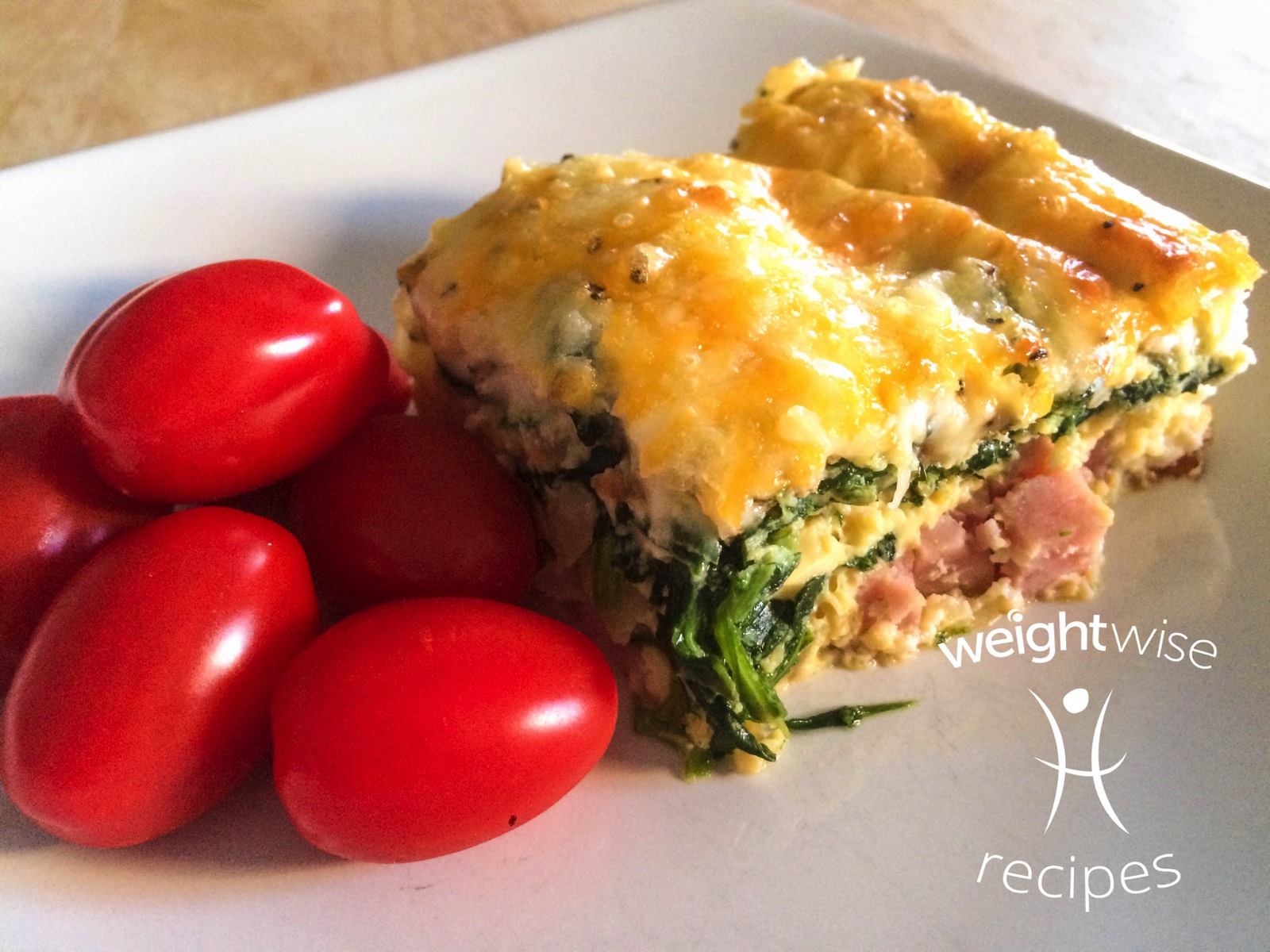 Ham, Spinach, and Mozza Casserole
