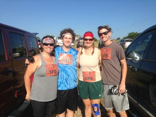 July 2015 Dirty Thirty Mud Run