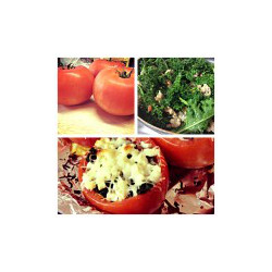 Loaded Baked Tomatoes Recipe by WeightWise