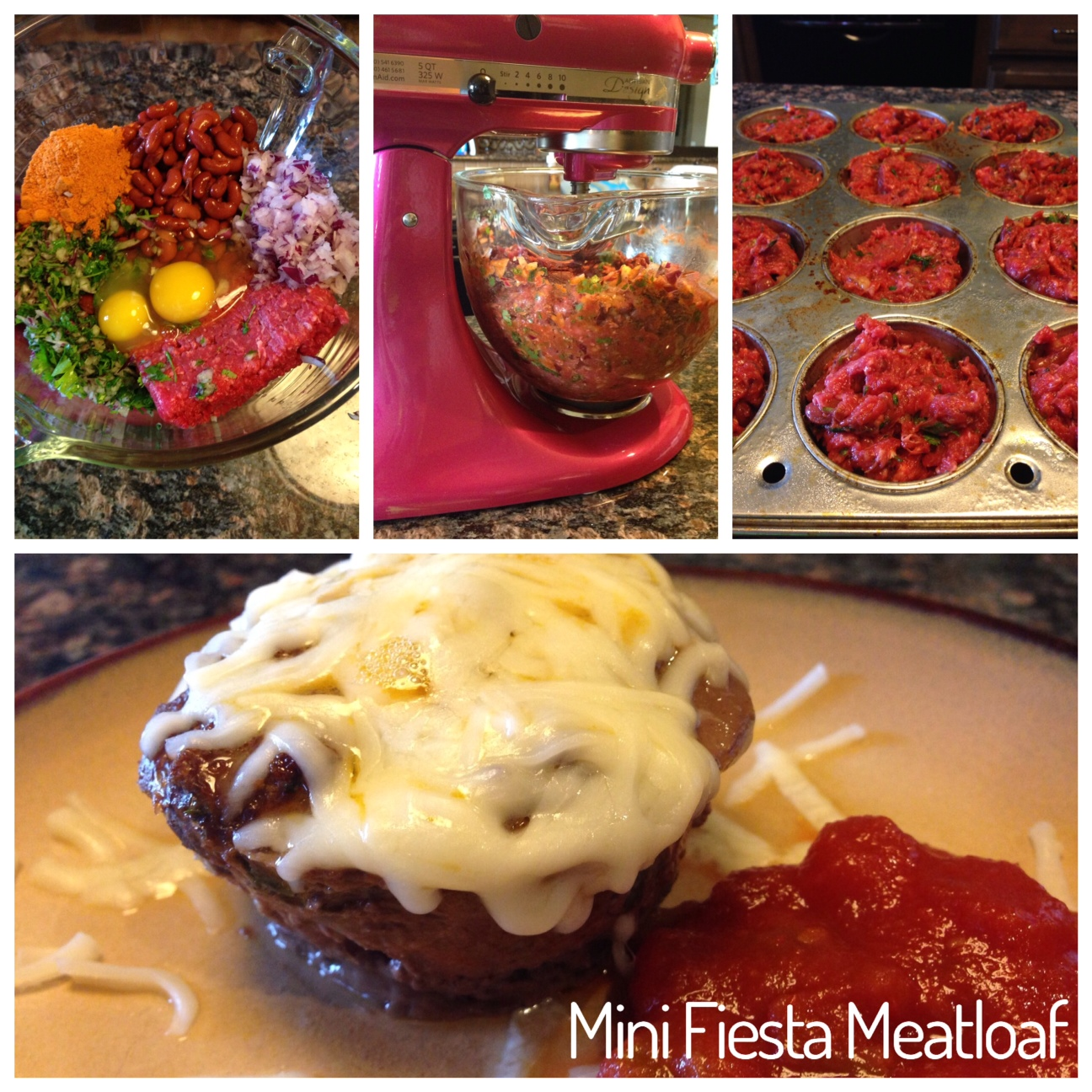 Mini Fiesta Meatloaf