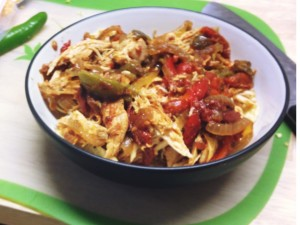 Slow Cooker Chicken Fajitas Recipe by WeightWise