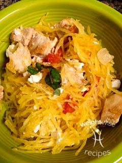 Spaghetti Squash Salad Recipe by WeightWise