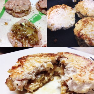 Stuffed Chicken Burgers Recipe by WeightWise