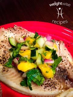 Tilapia and Mango Salsa Recipe by WeightWise