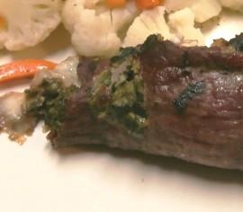 Blue Cheese Steak Roll
