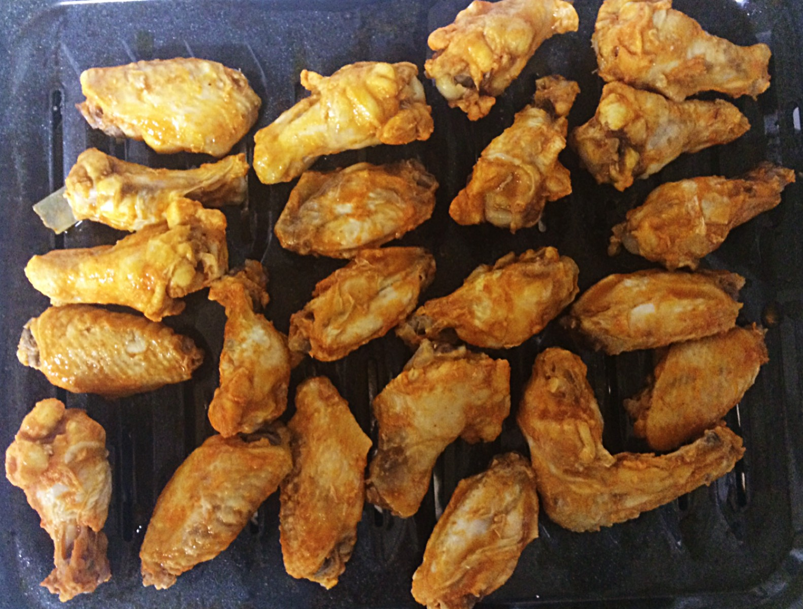 broiled wings
