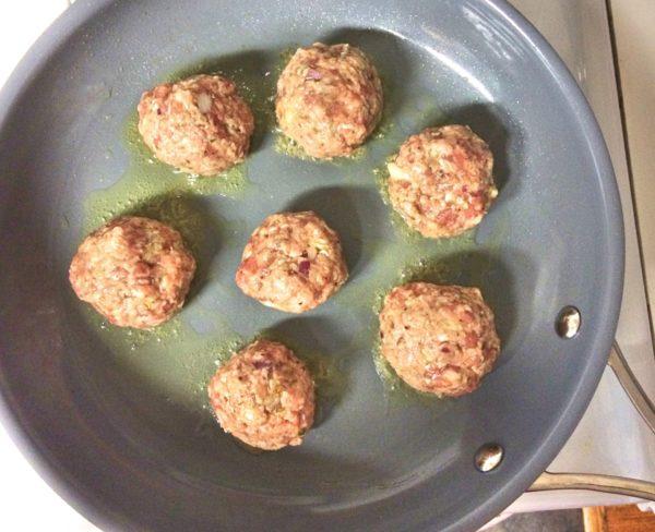 cooking meatballs 2