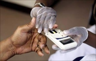 Diabetes-test