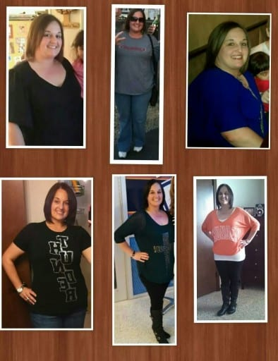 Karlee's journey from a size 22 to a size 6