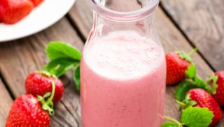 A strawberry yogurt after gastric bypass surgery