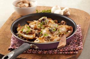 """Mushroom """"Bruschetta"""" Chicken Skillet"""