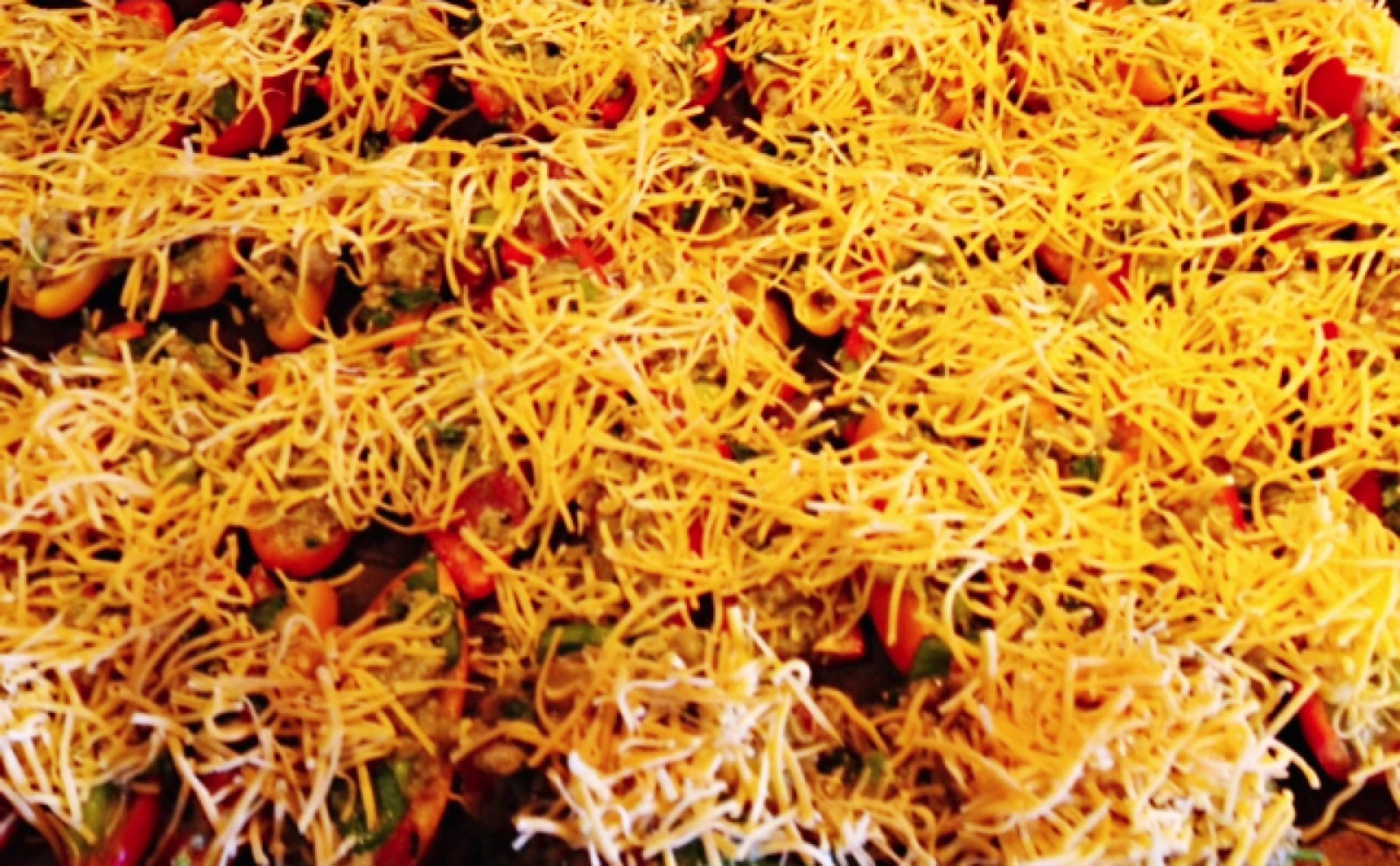 peppers with cheese