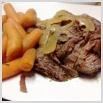 Beef Roast and Carrots
