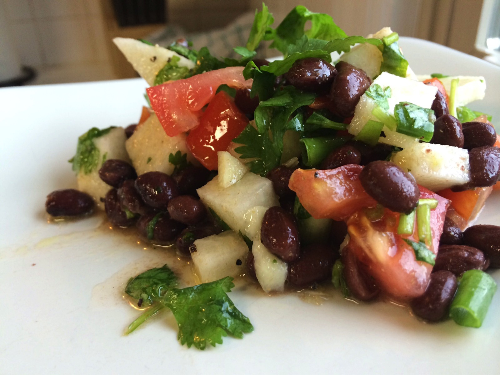 Jicama Black Bean Salad