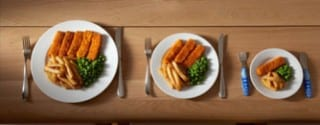 Oversized Meal Portions