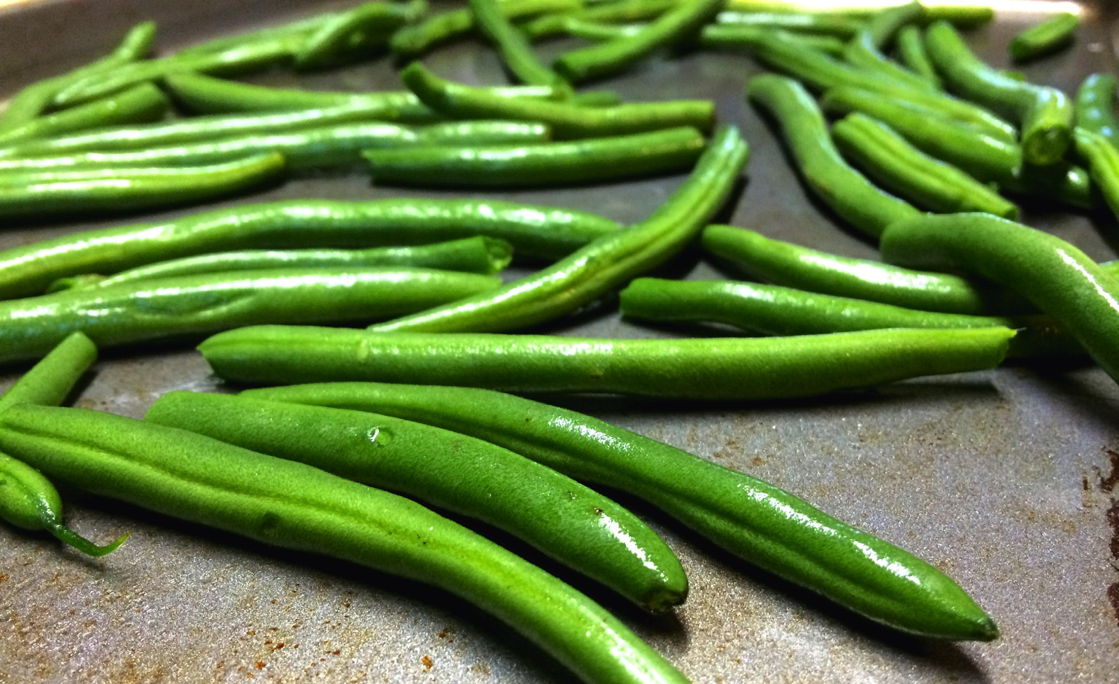precooked green beans