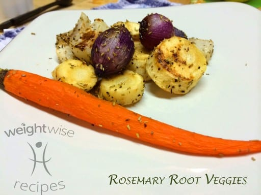 rosemary root veggies